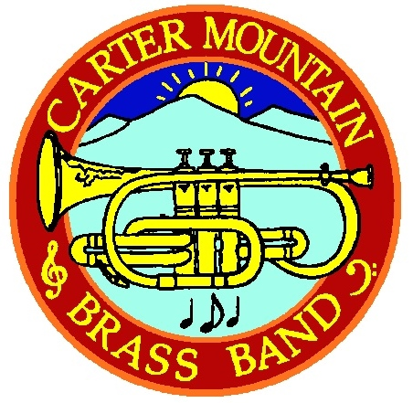 Carter Mountain Brass Band Logo